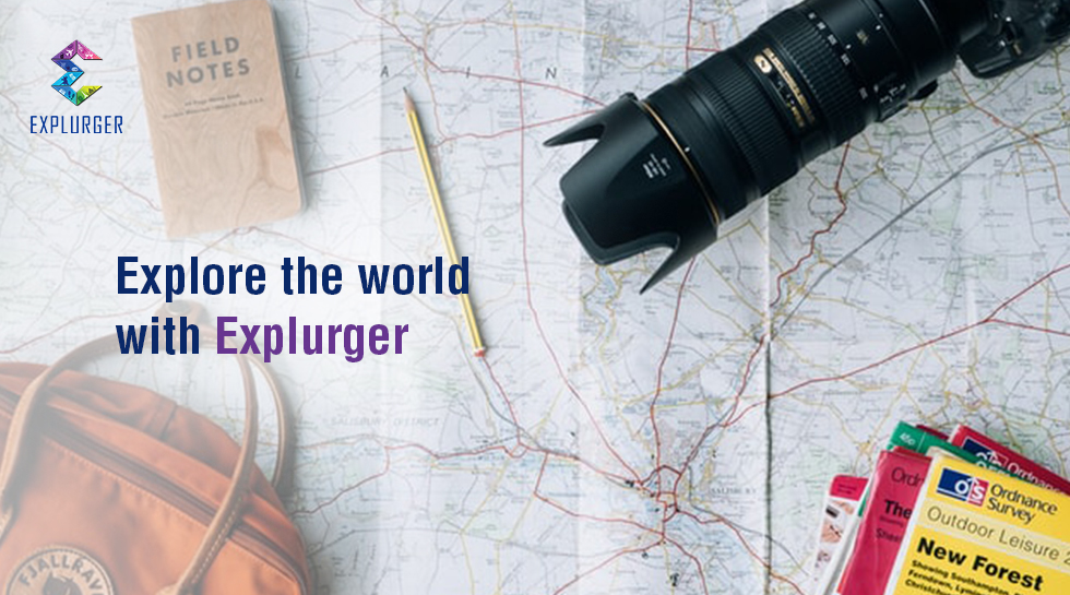 Vibe with your Tribe as you explore the world with Explurger