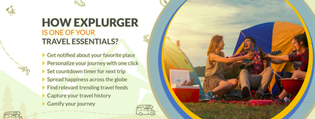 How Explurger is one of your Travel Essentials?